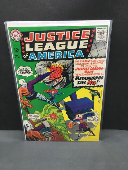 1965 DC Comics JUSTICE LEAGUE OF AMERICA #42 Silver Age Comic Book from Nice Collection