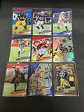 9 Card Lot of SERIAL NUMBERED Sports Cards from Collection with STARS & ROOKIES! WOW!