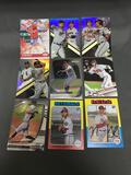 9 Card Lot of BASEBALL ROOKIE CARDS - Mostly from Newer Sets with Future Stars & More!