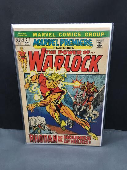 1972 Marvel Comics MARVEL PREMIERE #2 feat WARLOCK Bronze Age Key Issue Comic Book - Adam Warlock