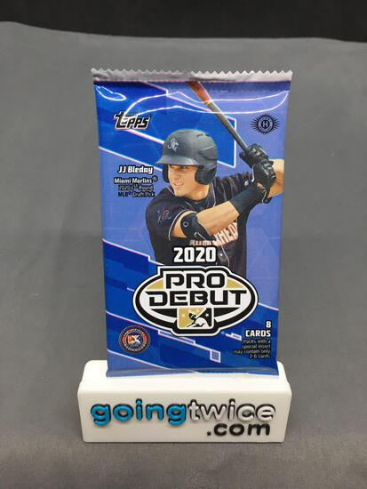 Factory Sealed 2020 Topps Pro Debut Baseball 8 Card Hobby Edition Pack