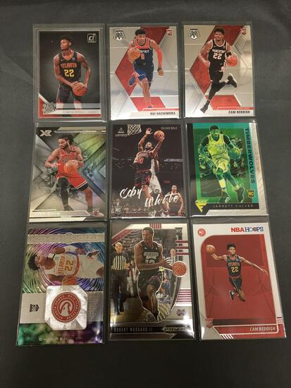 9 Count Lot of Basketball ROOKIE Cards - Mostly Newer Sets - Hot!
