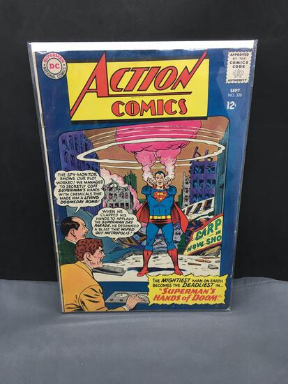 1965 DC Comics ACTION COMICS #328 Silver Age Comic Book from Cool Collection