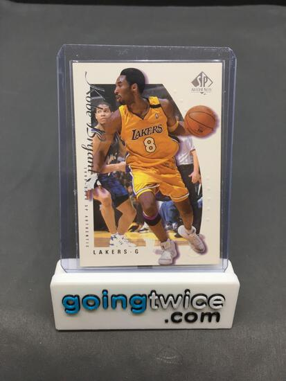 1999-00 SP Authentic #38 KOBE BRYANT Lakers Basketball Card