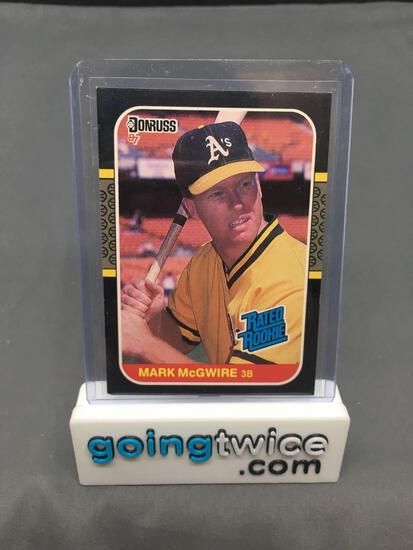 1987 Donruss #46 MARK MCGWIRE A's Cardinals ROOKIE Baseball Card