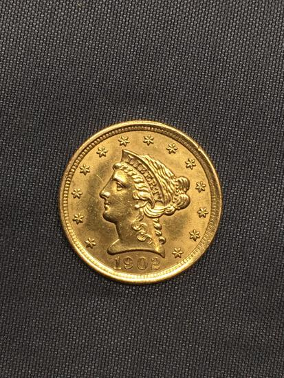 1902 United States 2.5 Dollar Liberty Gold Coin