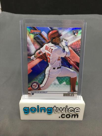 2018 Bowmans Best #37 VICTOR ROBLES Washington Nationals Rookie Trading Card