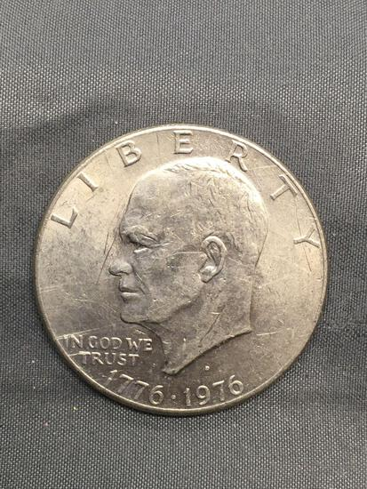 1976 United States Eisenhower Commemorative Dollar Coin from Estate
