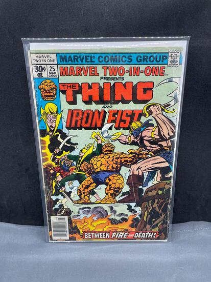 Marvel Comics MARVEL TWO-IN-ONE Bronze Age Comic Book from Estate Collection