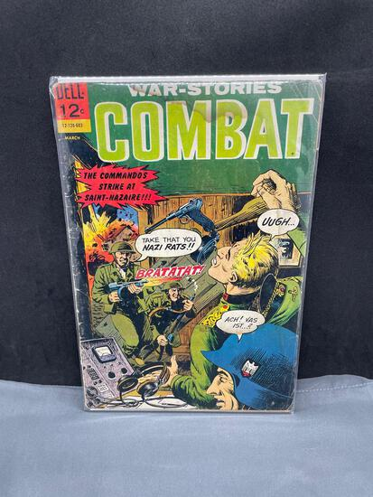Dell Comics WAR-STORIES COMBAT Silver Age Comic Book from Estate Collection