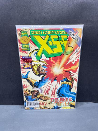 1996 Marvel Comics XAVIER'S SECURITY ENFORCERS #1 Modern Age Comic Book from NEW Collection