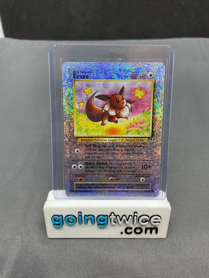 2002 Pokemon Legendary Collection #74 EEVEE Reverse Holofoil Rare Trading Card