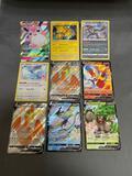 9 Count Lot of Rare MODERN Pokemon Cards - HOLOS, ULTRA RARES & BLACK STAR PROMOS!