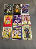 9 Count Lot of FOOTBALL ROOKIE Cards - Hottest Sets!