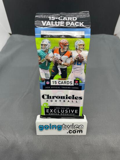 Factory Sealed 2020 Panini Chronicles Football 15 Card Retail Hanger Pack