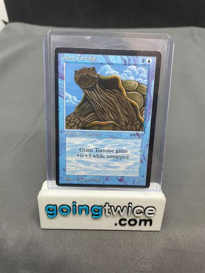 Vintage Magic the Gathering Arabian Nights GIANT TORTOISE Trading Card