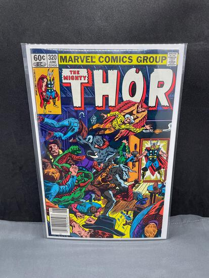 Marvel Comics THE MIGHTY THOR #320 Bronze Age Comic Book from Estate Collection