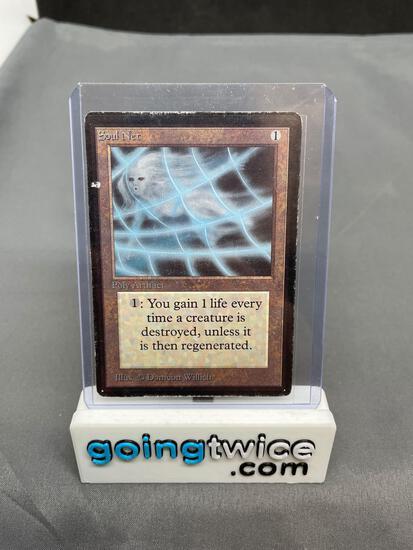 1993 Magic the Gathering Beta SOUL NET Vintage Trading Card