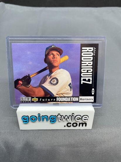 1994 Upper Deck Baseball #647 ALEX RODRIGUEZ Mariners Rookie Trading Card