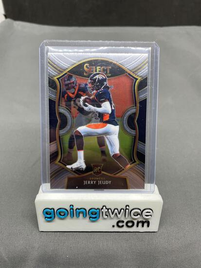 2020 Panini Select Football #56 JERRY JEUDY Broncos Rookie Trading Card