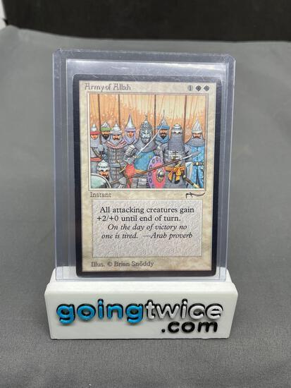 1993 Magic the Gathering Arabian Nights ARMY OF ALLAH Vintage Trading Card