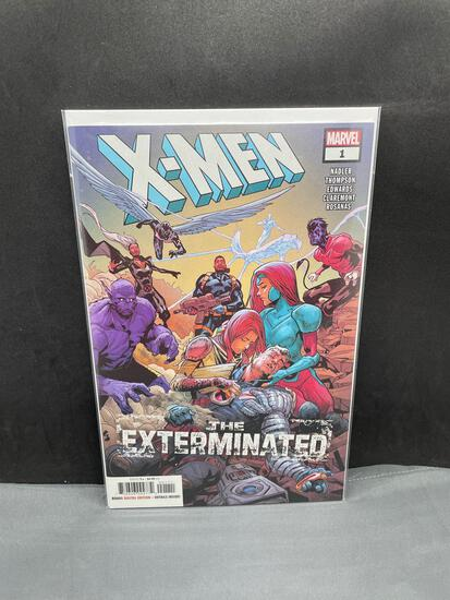 2018 Marvel Comics X-MEN #1 The Exterminated Modern Age Comic Book from NEW Collection