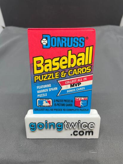 Factory Sealed 1989 DONRUSS BASEBALL 15 Card Vintage Trading Card Pack - Griffey Rookie?