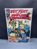 Marvel Comics SGT FURY and His Howling Commandos #59 Silver Age Comic Book from Estate Collection