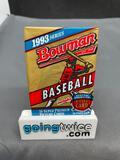 Factory Sealed 1993 BOWMAN BASEBALL 14 Card Premium Trading Card Pack