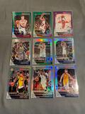 9 Card Lot of REFRACTORS and PRIZMS from Huge Collection - STARS, ROOKIES & MORE!