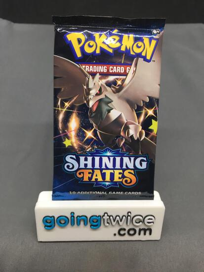 Factory Sealed Pokemon SHINING FATES 10 Card Booster Pack - SHINY CHARIZARD VMAX?