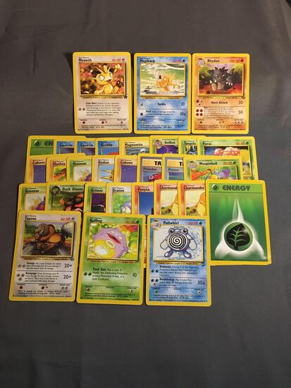 Huge Lot of Vintage WOTC Pokemon Trading Cards from Childhood Collection
