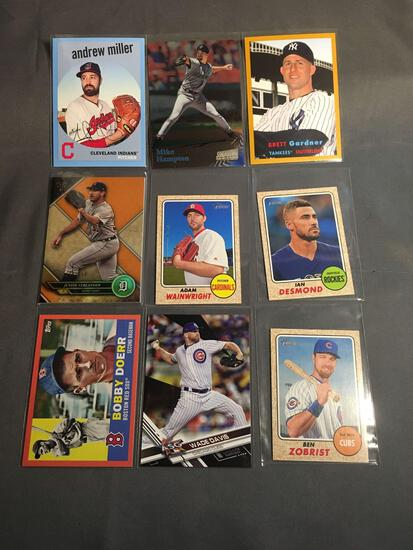 9 Card Lot of SERIAL NUMBERED Sports Cards with Stars & Rookies from Epic Collection