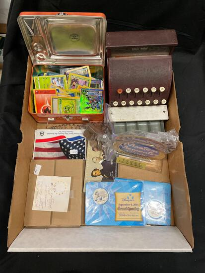 Estate Lot of Coins, Pokemon Cards and Other Collectables