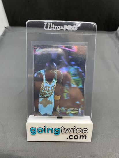 1991-92 Upper Deck Basketball #AW1 MICHAEL JORDAN Holographic Trading Card