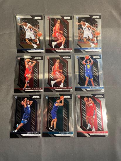 9 Card Lot of BASKETBALL ROOKIE Cards from Huge Collection - Stars, Future Stars and More!