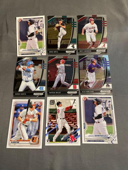 9 Card Lot of BASEBALL ROOKIE Cards from Huge Colletion - Stars, Future Stars and More!