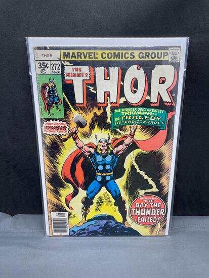 1978 Marvel Comics MIGHTY THOR #272 Bronze Age Comic Book from Estate Collection - RAGNORAK