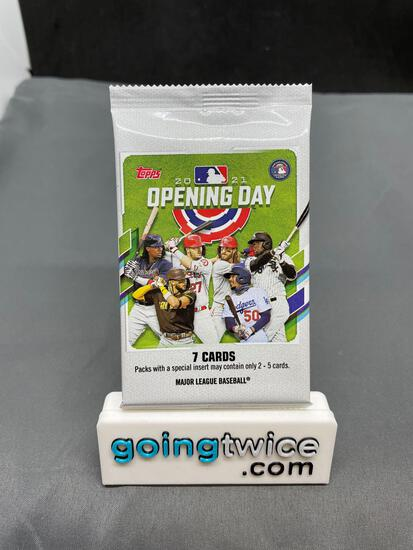 Factory Sealed 2021 Topps Opening Day Baseball Cards 7 Per Pack