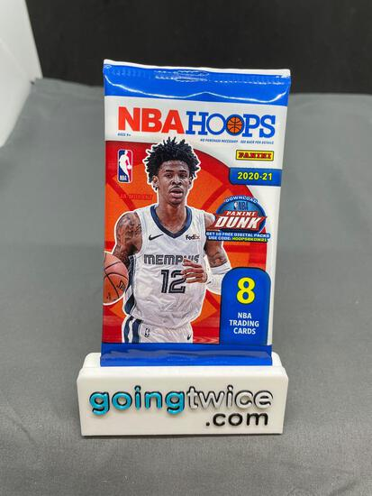 Factory Sealed 2020-21 NBA Hoops 8 Card Pack - LaMelo first Pro RC?