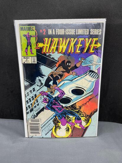 Vintage Marvel Comics HAWKEYE #2 Comic Book from Estate