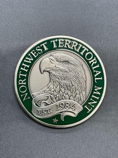 NW Territorial Mint Challenge Coin Promotional Token Coin from Estate Collection