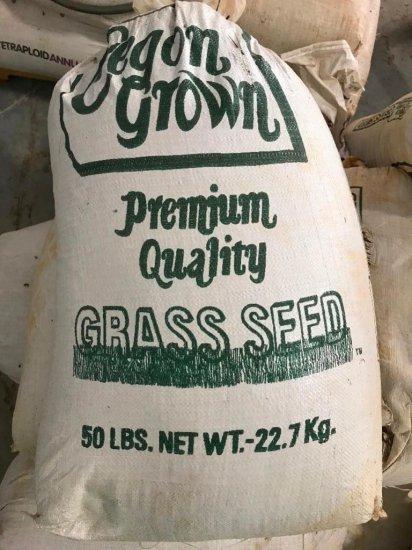Sacks of Grass Seed