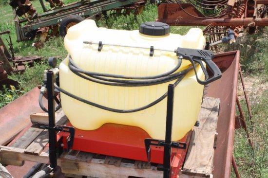 30 Gallon- SMA Polly Tank Spray Rig
