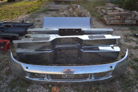 8 Chrome Bumpers and 1 Chrome Car Spoiler