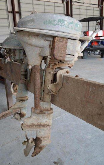 Evinrude Antique Boat Motor