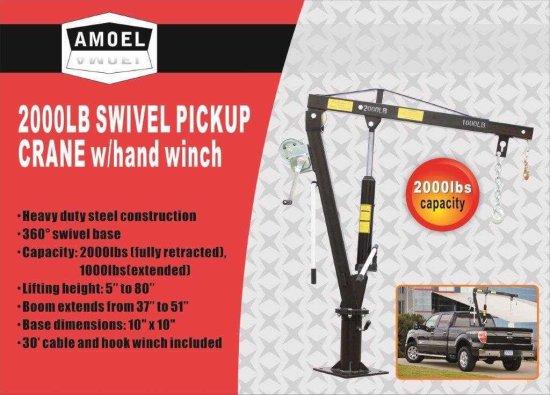 2000 LB Swivel Pickup Crane