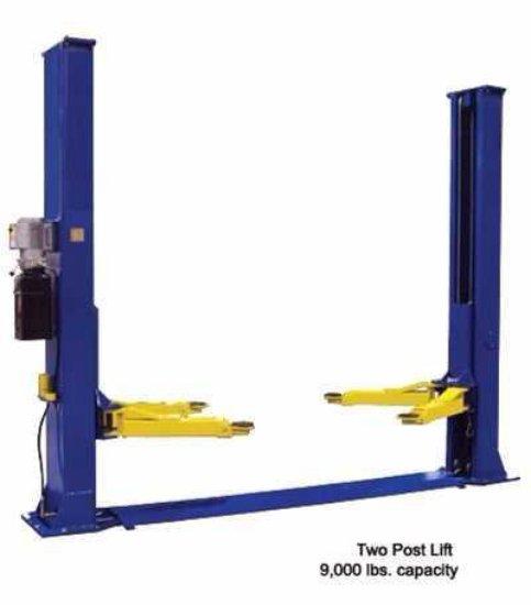 8800 LB Heavy Duty Two Post Auto Lift (BoxA&B)