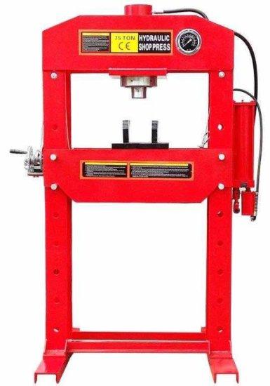 75 Ton Hydraulic Shop Press