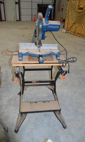 10 In Miter Table Saw - Ryobl 120 V AC - 14A - 60HZ - Double Insulated